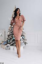 Вечернее платье из ткани с люрексом  Размеры 42-44, 44-46, фото 3
