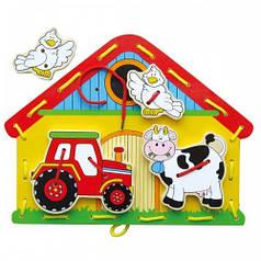 Шнуровка Ферма Viga Toys (59027)