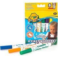 Смываемые фломастеры для малышей (8 шт), Mini Kids, Crayola