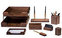Настольный набор Bestar 8 предметов Орех 8280 WDN