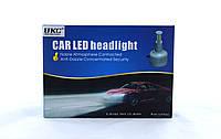 Светодиодные лампы для автомобиля UKC Car Led H3 3000Lm, 2 х 33W, 12V, 4500-5000К, до 50000ч, 2шт в наборе