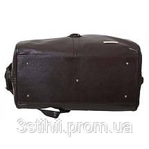 Дорожная сумка VIP Collection 45 л Коричневая (36490B flat), фото 2