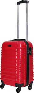 Чемодан дорожный VIP Collection пластиковый Nevada 20 Red малый Красный