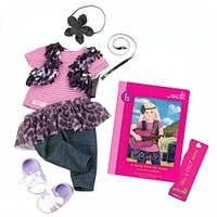 Аксессуары для кукол Одежда для выступления и книга Лэйлы (9 предметов), Our Generation BD30233Z