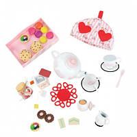 Набор аксессуаров для кукол Веселое чаепитие (28 предметов), Our Generation BD37137Z