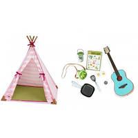 Набор аксессуаров для кукол Мини-палатка (25 предметов), Our Generation BD37209Z