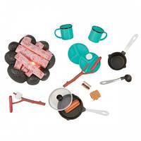 Набор аксессуаров для кукол Вокруг костра (14 предметов), Our Generation BD37254Z