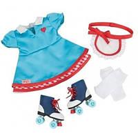 Набор одежды для кукол Платье и ролики, Our Generation BD60013Z