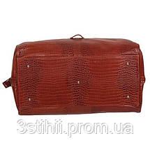 Сумка дорожная VIP Collection 45 л Коньяк (36490C flat), фото 3