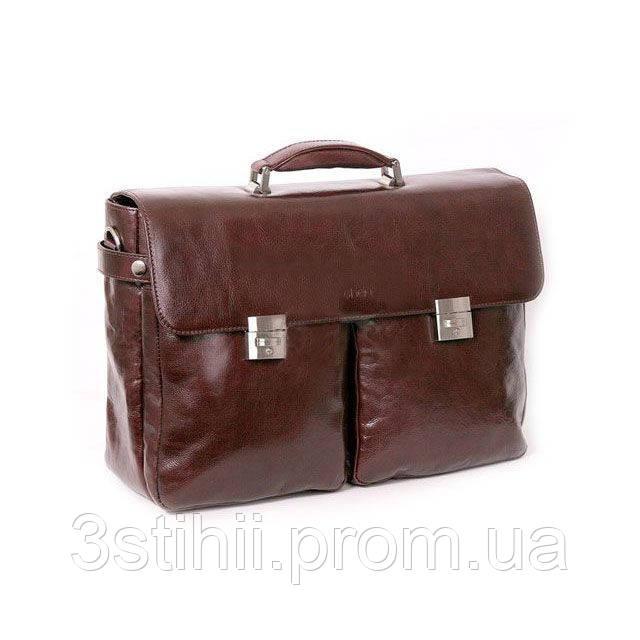 c28e97c54a98 Портфель мужской кожаный Sheff 5003.23 Коричневый - Лучшие подарки в Киеве
