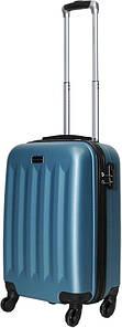 Чемодан дорожный VIP Collection пластиковый Benelux 20 Blue Голубой