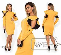 """Платье большие размеры """" Плечи рюш """" Dress Code, фото 1"""