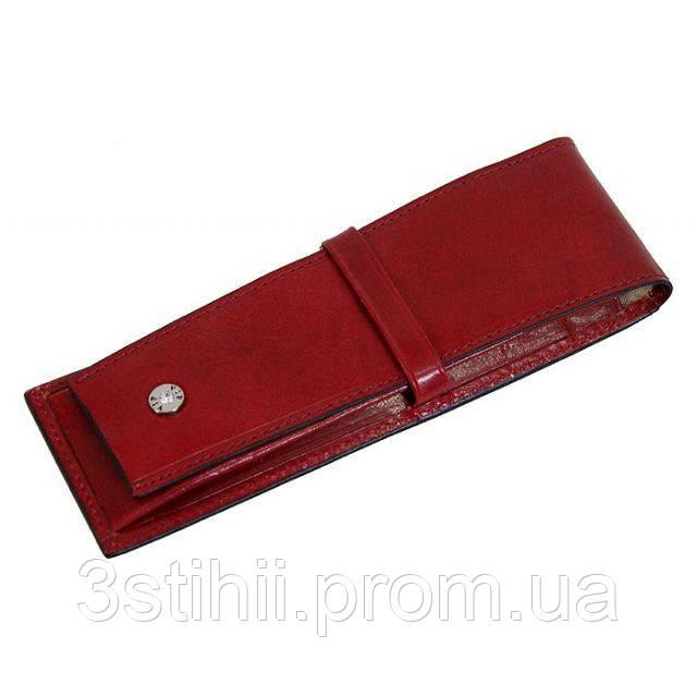 Кожаный футляр для ручки VIP Collection Diamond 78R DMD Красный