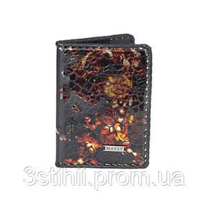 Обложка для паспорта кожаная Феникс Макей 509-11-06