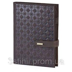 Кожаный ежедневник формат А5 Соты Макей (508-08-03)