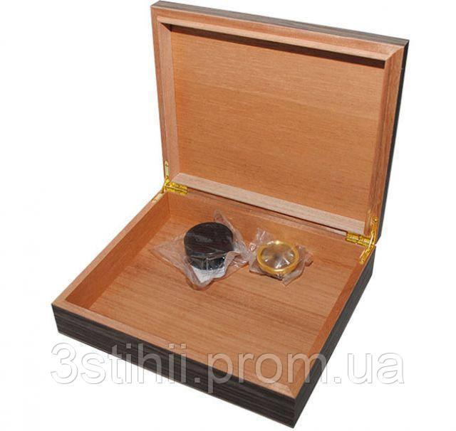 Хьюмидор для 12 сигар Light Zebra Colton (09455)