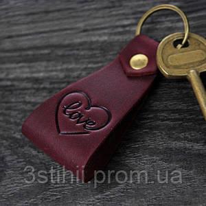Брелок BlankNote Loving heart Виноград (BN-BK2-3-vin)