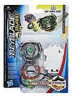 Волчок Hasbro BEYBLADEGenesis Valtryek v3 (зеленый) с пусковым устройством