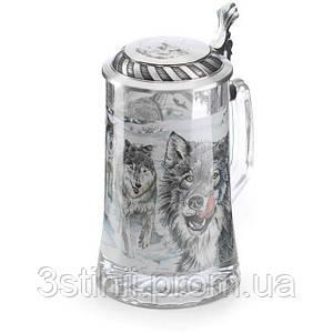 Кружка пивная Волк Artina SKS 500 мл (93340)