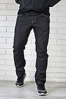 Мужские теплые джинсы с плотной ткани с начесом