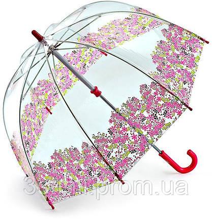 Детский зонт-трость Fulton Funbrella-4 Цветы (C605), фото 2
