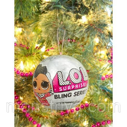 Кукла L.O.L. Surprise Новогодний шар Лол Блинг/ Bling Series