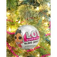 Кукла L.O.L. Surprise Новогодний шар Лол Блинг/ Bling Series, фото 1