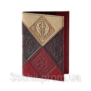 """Обложка для паспорта """"Medieval"""" (натуральная кожа) 509-07-06"""
