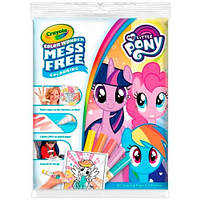 Книга-раскраска с волшебными фломастерами My Little Pony, Color Wonder, Crayola 75-2398