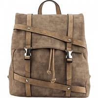Рюкзак молодежный 2519 из эко-кожи коричневый (13 л), Kite K18-2519XS-2