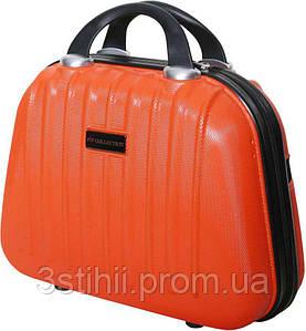Косметичка  дорожная Vip Collection Panama 14 Orange Оранжевая