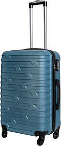 Чемодан дорожный VIP Collection пластиковый Costa Brava 24 Blue Голубой