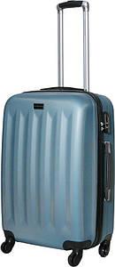 Чемодан дорожный VIP Collection пластиковый Benelux 24 Blue Голубой