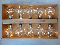Гирлянда з лампочками 10 шт. SC-LED-5-50-W, D-8,5 см Гирлянда с лампочками