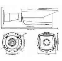 4 Мп уличная IP видеокамера Hikvision DS-2CD2T43G0-I8 (4 мм), фото 2