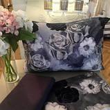 Комплект постельного белья  Issimo Home сатин размер евро AURA, фото 4