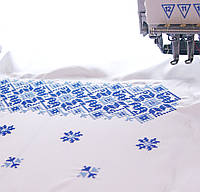 Вышивка на ткани под заказ