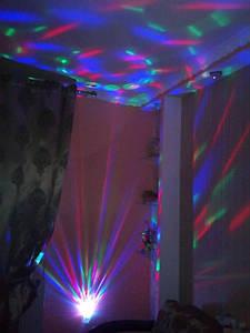Новогодняя светодиодная лампа ДИСКО