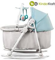 Кресло-качалка 5в1 UNIMO марки KinderКraft (голубое)