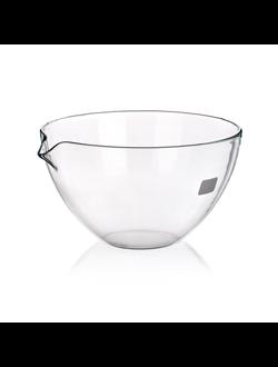 Чаша испарительная плоскодонная с носиком 60 мм, стекло