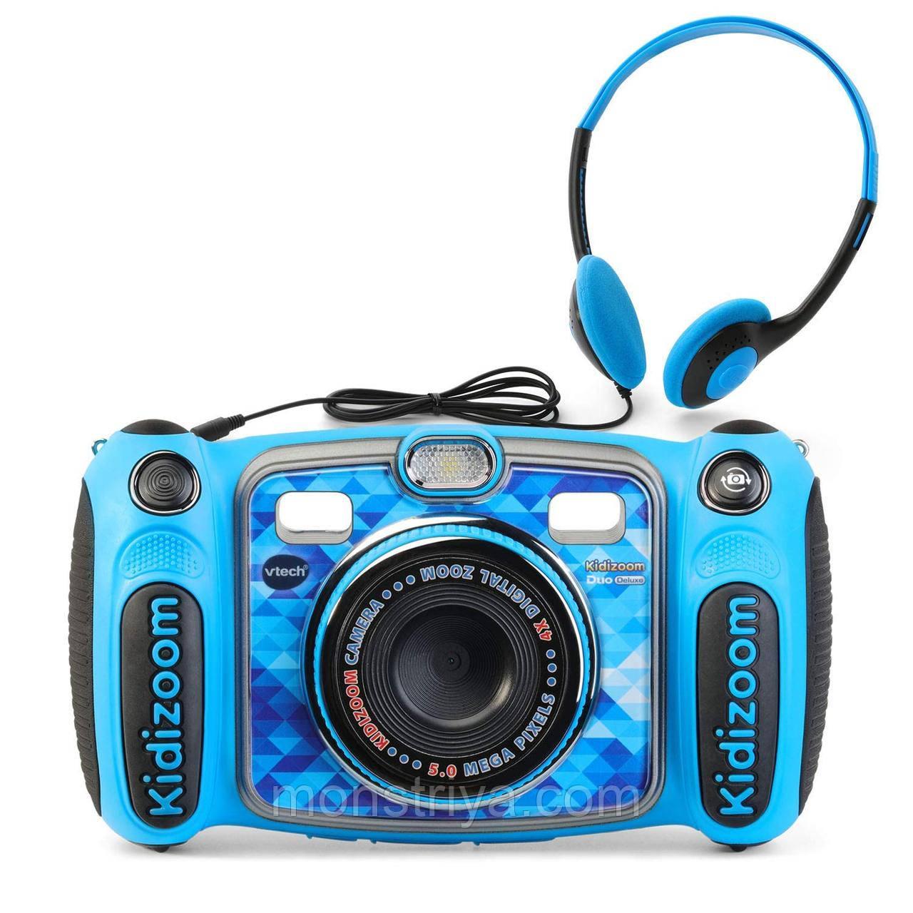 Детский фотоаппарат VTech Kidizoom DUO 5.0 Deluxe новинка 2018