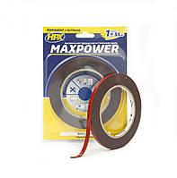 MAXPOWER OUTDOOR - черная двусторонняя лента (скотч) для экстремальных нагрузок - для наружных работ, фото 1