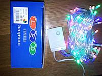 Новогодняя светодиодная гирлянда 100LED 8м мультиколор