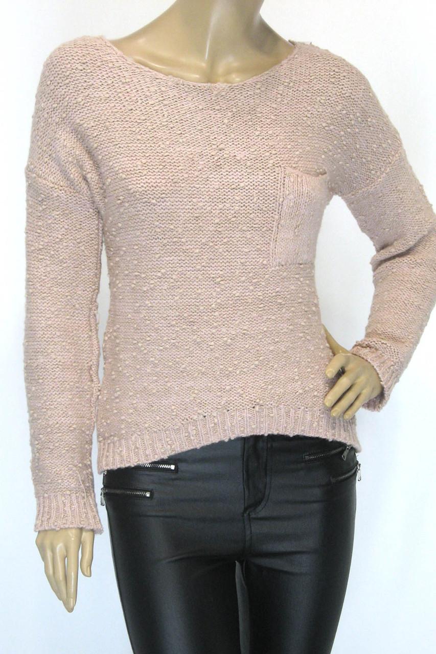 Жіночий вязаний джемпер букле