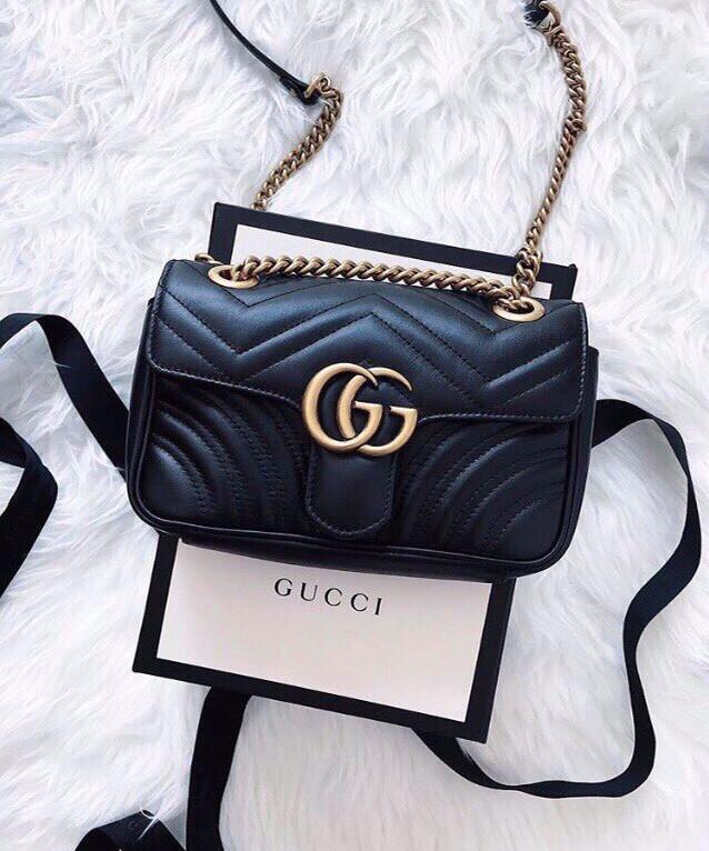 Сумка Gucci в стиле (Полный Люкс копия бренда) кожа в коробочке и мешочке. 25ed91dfd93