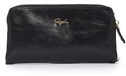Прочный женский кошелек на молнии SACRED art. 16A-10382 черный