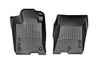 К/с Acura TLX коврики салона в салон на Acura TLX 2015- с бортиком, передние, черные AWD