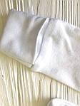 Натуральный Человечек для новорожденного  Белый, фото 2