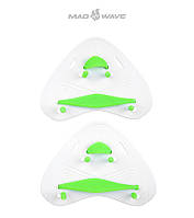 Кистевые лопатки Mad Wave Finger Paddles PRO (White), фото 1