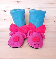 Тапочки для дома  детские Свинка Пеппа, фото 1